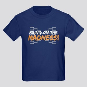 Bring on March Madness Kids Dark T-Shirt